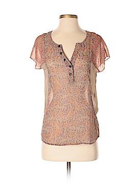 Kensie Short Sleeve Blouse Size XS
