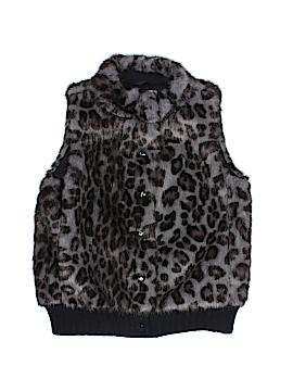 Crewcuts Faux Fur Vest Size 6 - 7
