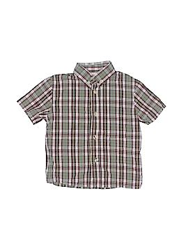B.T. Kids Short Sleeve Button-Down Shirt Size 4T