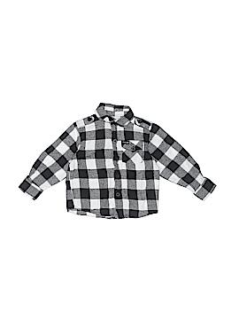 Hurley Long Sleeve Button-Down Shirt Size 18 mo