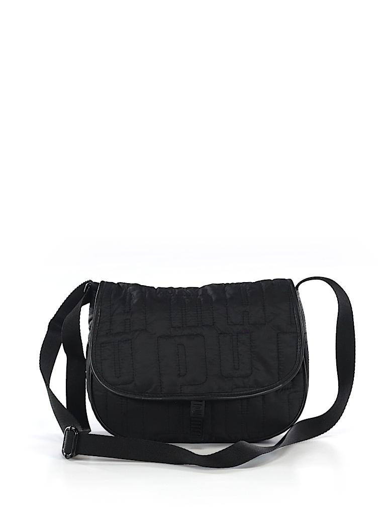 5ec40ba1c2bc Puma Solid Black Crossbody Bag One Size - 64% off