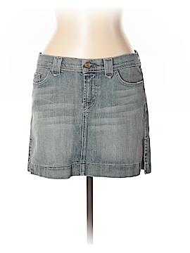 7 For All Mankind Denim Skirt 31 Waist