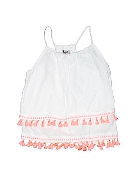Poof Girl Sleeveless Blouse Size 10 - 12