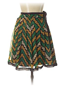 Vertigo Paris Silk Skirt Size 10