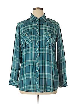 Torrid Long Sleeve Button-Down Shirt Size 0X Plus (0) (Plus)