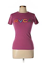 RVCA Women Short Sleeve T-Shirt Size S