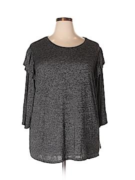 Ava & Viv 3/4 Sleeve Blouse Size 2X (Plus)