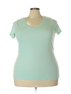 Ava & Viv Short Sleeve T-Shirt Size 1X (Plus)