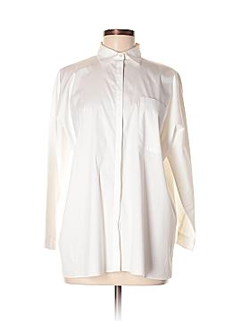 Zara 3/4 Sleeve Button-Down Shirt Size M