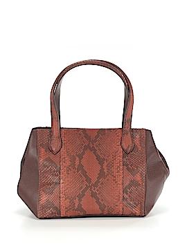 Carlos Falchi Leather Satchel One Size