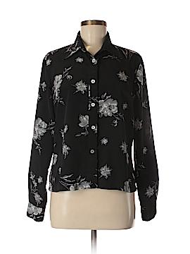Rampage Long Sleeve Button-Down Shirt Size L