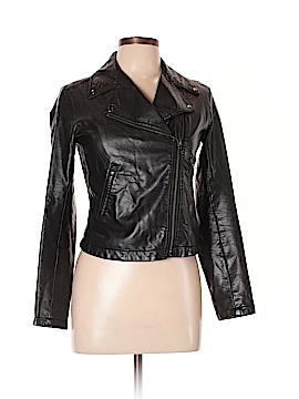Uniqlo Faux Leather Jacket Size 12