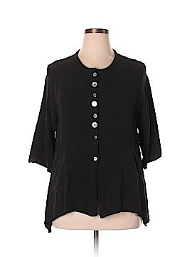 Odille Short Sleeve Button-Down Shirt Size XL