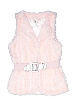 Knit Works Faux Fur Vest Size 7 - 8