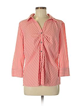 Covington 3/4 Sleeve Button-Down Shirt Size XL