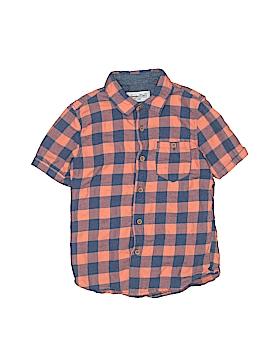 Sovereign Code Short Sleeve Button-Down Shirt Size 6