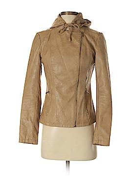Hive & Honey Faux Leather Jacket Size XS