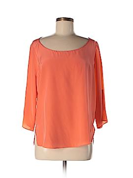 Amanda Uprichard 3/4 Sleeve Silk Top Size M