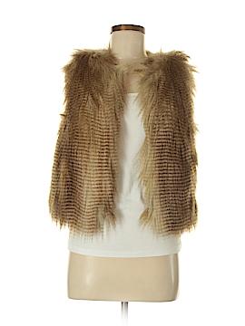 Moda International Faux Fur Vest Size S