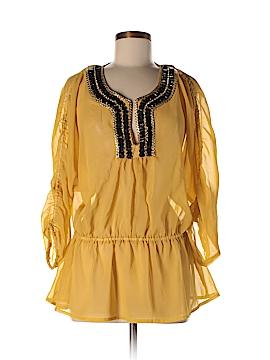 Adrienne Vittadini 3/4 Sleeve Blouse Size M