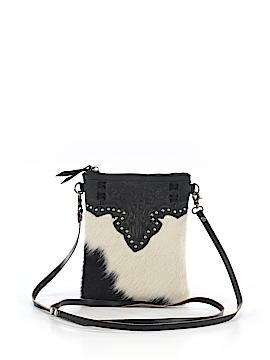 Montana West Leather Crossbody Bag One Size