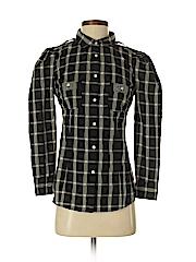 Juicy Couture Women Long Sleeve Button-Down Shirt Size 2