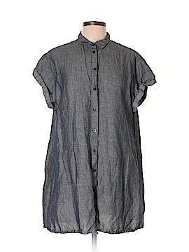 Madewell Short Sleeve Button-Down Shirt Size L