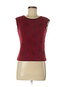 Petite Sophisticate Short Sleeve Blouse Size P