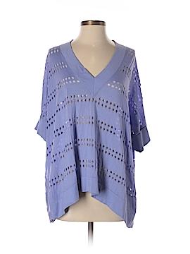 Cotton by Autumn Cashmere Short Sleeve Top Size S