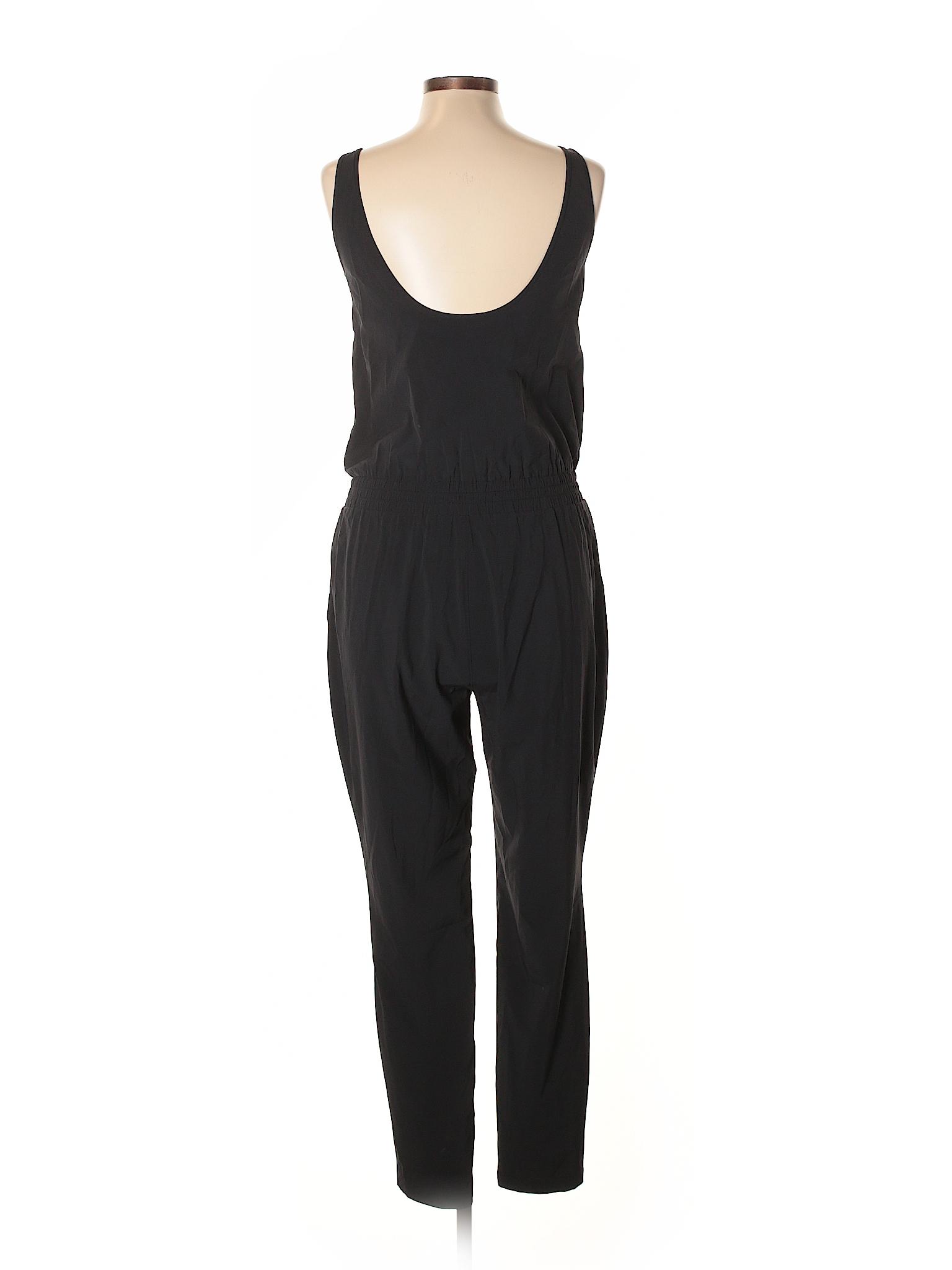 043e8cfe139 Athleta Solid Black Jumpsuit Size 6 - 66% off