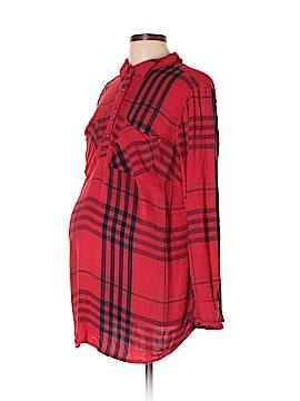 Liz Lange Maternity for Target Long Sleeve Blouse Size XL (Maternity)