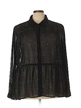Torrid Long Sleeve Blouse Size 4X Plus (4) (Plus)