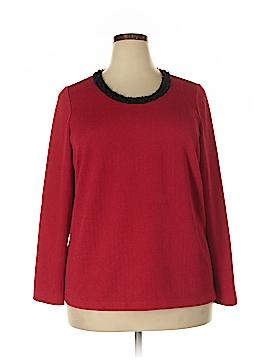 Laura Ashley Long Sleeve Top Size 2X (Plus)