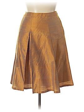 Lafayette 148 New York Silk Skirt Size 10