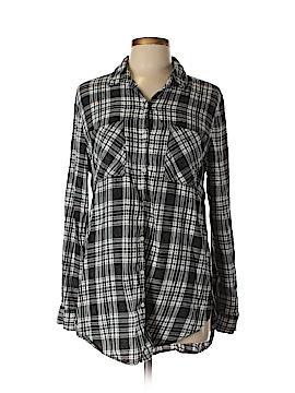Tokyo Darling Long Sleeve Button-Down Shirt Size L