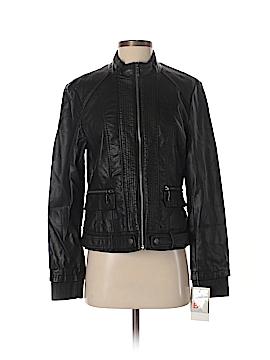 B by Bernardo Faux Leather Jacket Size M
