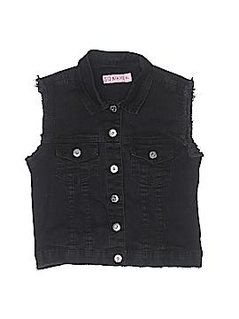So Nikki... Denim Vest Size X-Large (Kids)