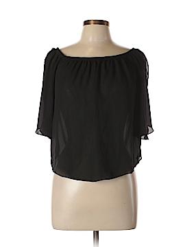 Mezzanine Short Sleeve Blouse Size M