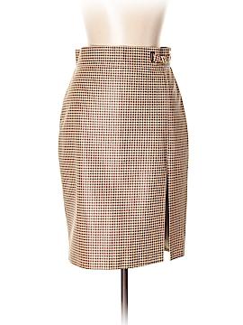 Ralph Lauren Black Label Leather Skirt Size 10