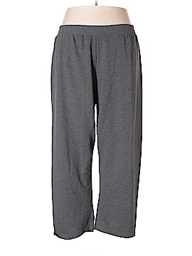 Just My Size Sweatpants Size 4X (Plus)