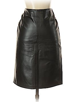 Sisley Leather Skirt Size 38 (IT)