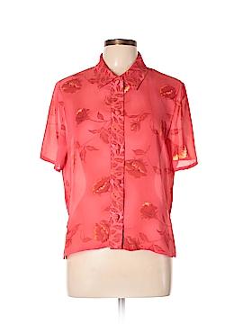 Ultra Dress Short Sleeve Blouse Size 12