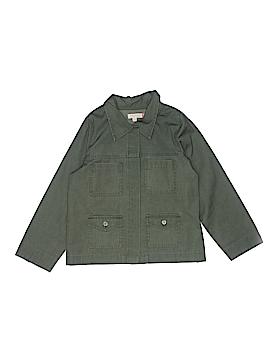 Pink Chicken Long Sleeve Button-Down Shirt Size 10