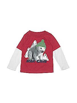 Peanut & Ollie Long Sleeve T-Shirt Size 4T
