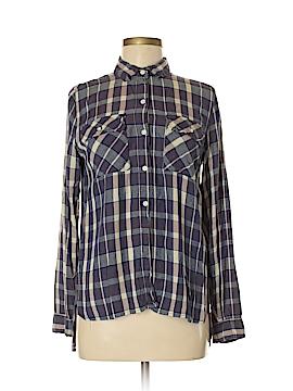 Roxy Long Sleeve Blouse Size M