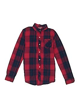 Arizona Jean Company Long Sleeve Button-Down Shirt Size 14 - 16
