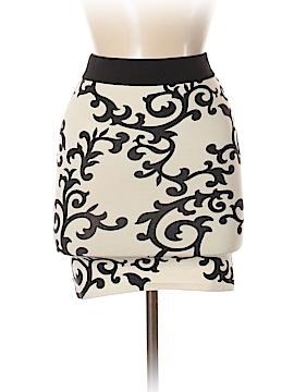 White House Black Market Silk Skirt Size XS