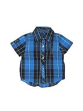 Ralph Lauren Baby Short Sleeve Button-Down Shirt Size S (Kids)