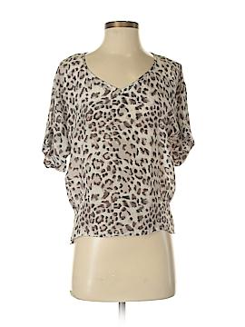 Greylin Short Sleeve Silk Top Size S