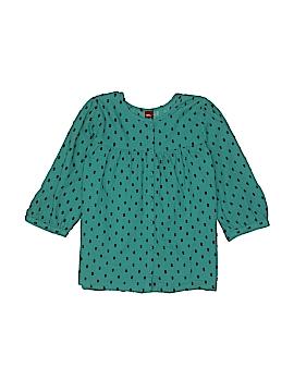 Tea 3/4 Sleeve Button-Down Shirt Size 8